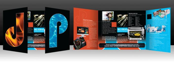 Design Print Brochure Services