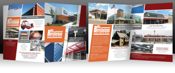 Professionally Printed Brochures