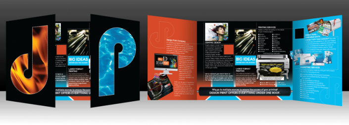 Design Print Brochure Services